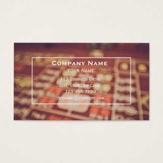 Casino Gaming Business Card
