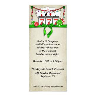 Casino Holiday Invitation