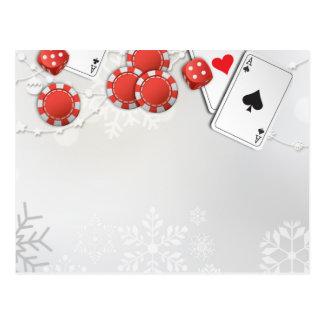 Casino Holiday Postcard
