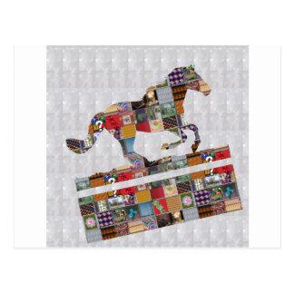 Casino HORSE Race Club Gamble Play NVN490 FUN GIFT Postcard
