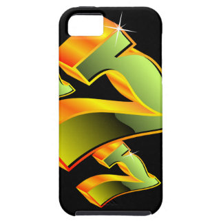 Casino illustration with green sevens. iPhone SE/5/5s case