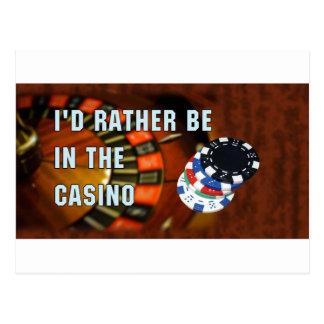 Casino iphone4 postcard