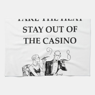 casino joke towels