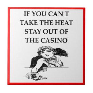 casino joke ceramic tiles