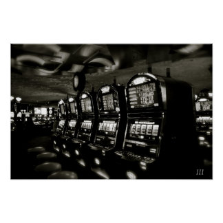 "Casino ""Las Vegas Slots"" Poster"