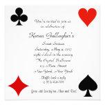 Casino Las Vegas Sweet 16 Invitation
