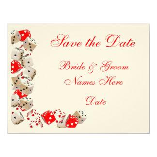 Casino Las Vegas Wedding Save the Date Cards