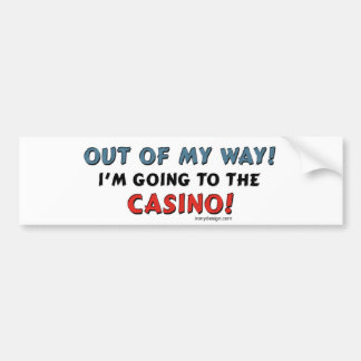Casino Lovers Car Bumper Sticker