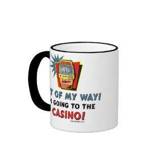 Casino Lovers Ringer Coffee Mug