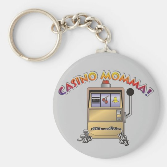 casino machine keychain