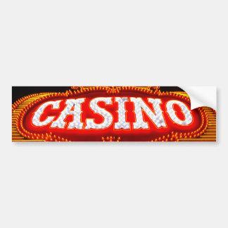 Casino Marquee in Carson City Bumper Sticker