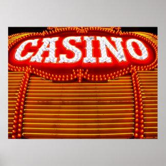 Casino Marquee in Carson City Print