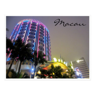 casino neon lights post cards