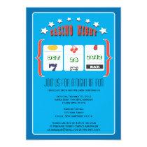 Casino Night Party Card