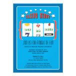 Casino Night Party Custom Invitations