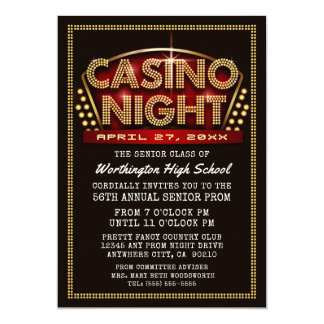 Prom Night Invitations & Announcements | Zazzle