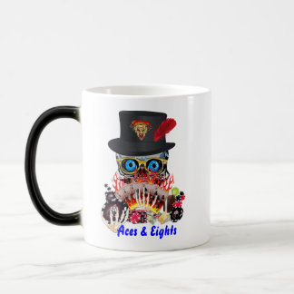 Casino Party Any Event Aces and Eights View Notes Magic Mug