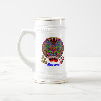 Casino Party Fast Luck Mojo View Notes Beer Stein