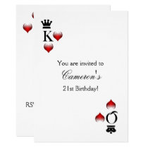 Casino party Invitation