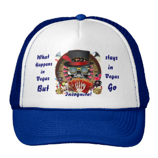 Casino Party Vegas So Go Incognito View Notes Trucker Hat