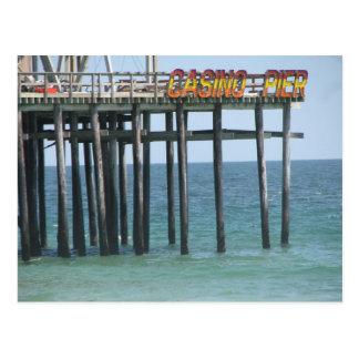 Casino Pier Postcard