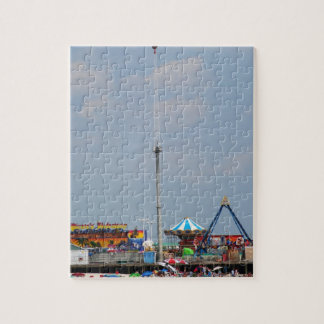 Casino Pier Seaside Heights New Jersey Shore Puzzle