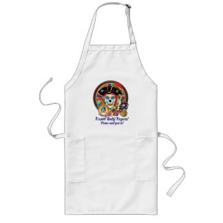 Casino Pirate Style 1a IMPORTANT Read About Design Long Apron