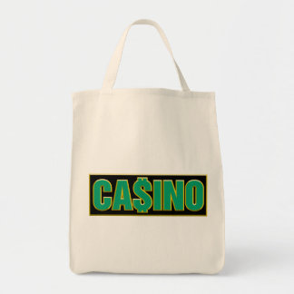 Casino - Play To Win - Gamble Canvas Bags
