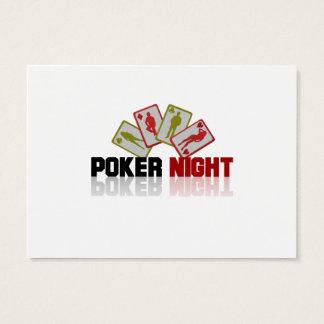 Casino Poker Business Card