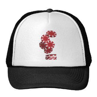 Casino Poker Chips Hat