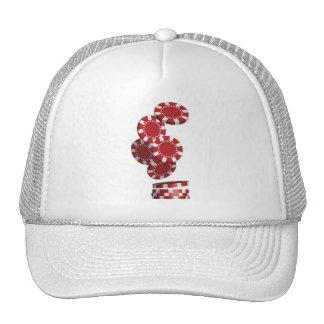 Casino Poker Chips Hats