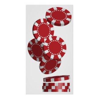 Casino / Poker Chips Poster