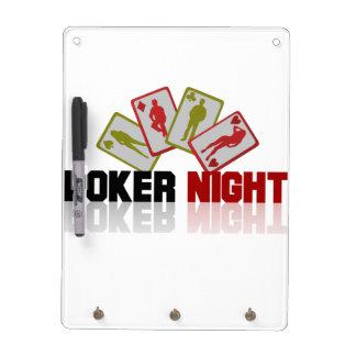Casino Poker Dry Erase Board