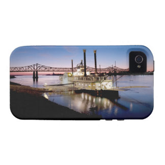Casino Riverboat at Dusk Vibe iPhone 4 Cover
