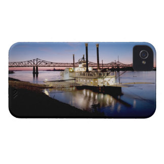 Casino Riverboat at Dusk iPhone 4 Case-Mate Case