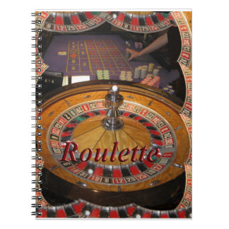 Casino Roulette wheel montage Notebook