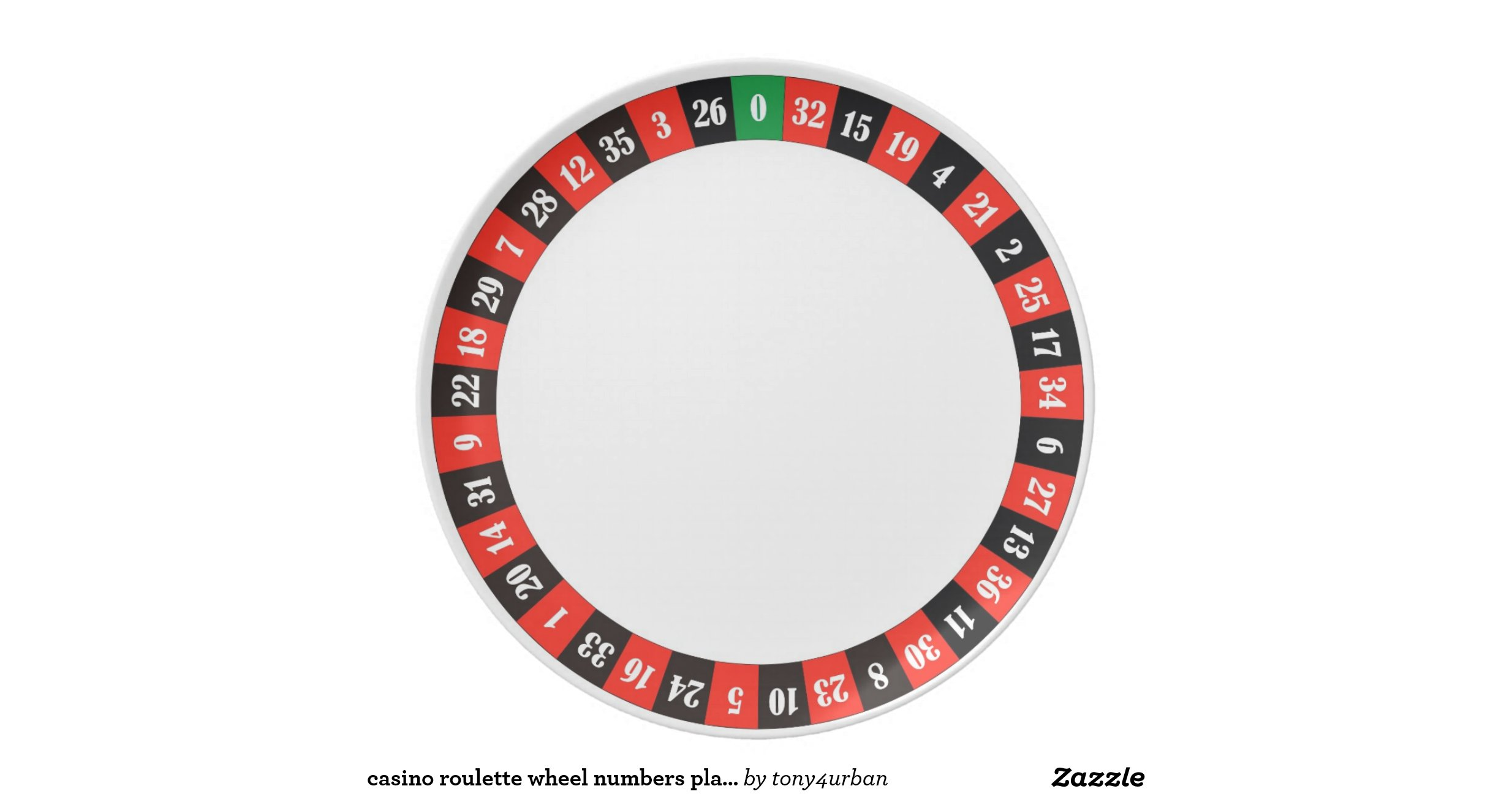Roulette wheel even numbers