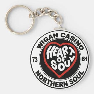 Casino septentrional de Wigan del alma Llavero Personalizado