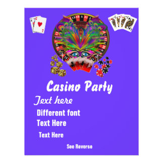 Casino Themes Masquerade 1 See Notes Flyers