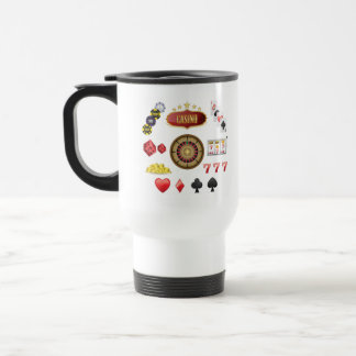 Casino Travel Mug