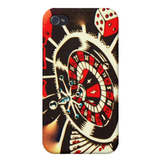 Casino Vegas Style High Roller iPhone 4/4S Cover