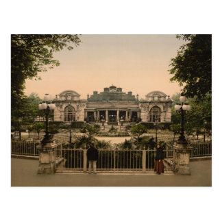 Casino viejo, Vichy, postal de Francia