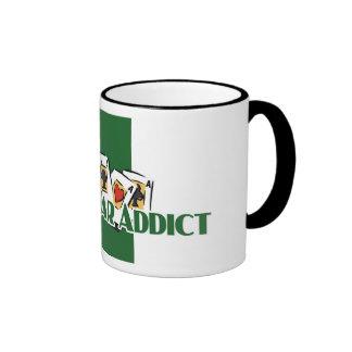 Casino-War Addict's ringer mug
