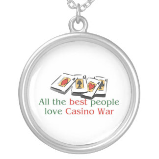 Casino War Lover's Necklace