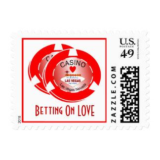 Casino Wedding Postage