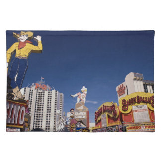 Casinos and hotels in Las Vegas Cloth Placemat