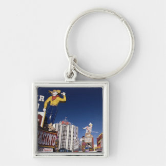 Casinos and hotels in Las Vegas Keychain