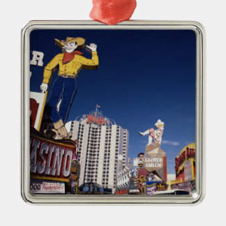 Casinos and hotels in Las Vegas Metal Ornament