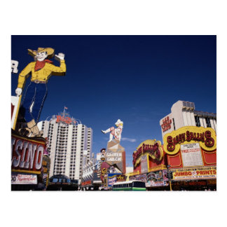 Casinos and hotels in Las Vegas Postcard