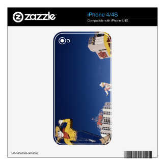 Casinos and hotels in Las Vegas iPhone 4S Decal